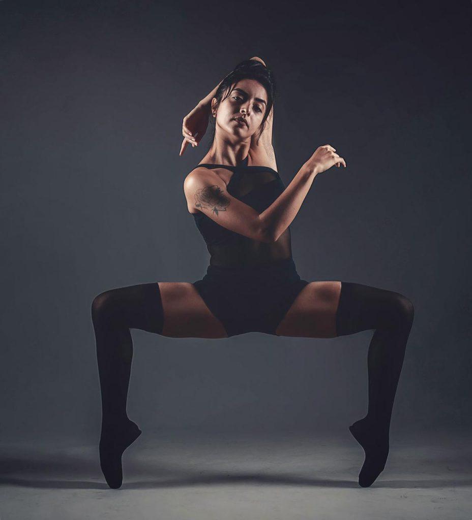 Collant evidence ballet
